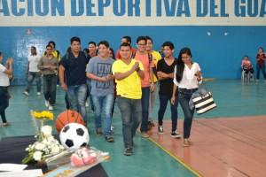 Ex alumnos. Juegos Deportivos 2016