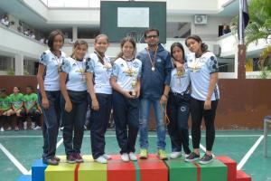 10° EGB Campeonas de fútbol