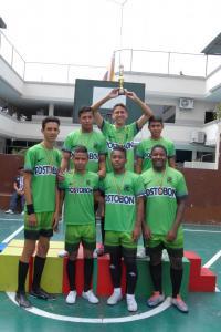 1° Bach Campeones de fútbol