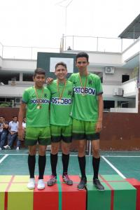 1° Bach Campeones de Volleyball